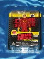"JOHNNY QUICK: 6"" Action Figure w Display Base! CRIME SYNDICATE, DC Direct NEW!"