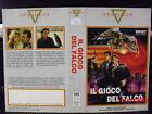 IL GIOCO DEL FALCO - VHS USATA EX NOLEGGIO - STARDUST 1987
