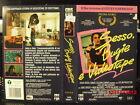 SESSO BUGIE E VIDEOTAPE - VHS USATA EX NOLEGGIO -CBS FOX 1990