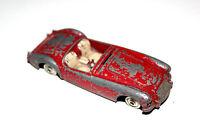 Corgi Toys Red MGA 2 Seater Sports Car # 302 Spun Hubs !!!