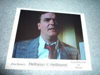 ANGUS MACINNES signed autograph In Person 8x10 (20x25 cm) HELLRAISER 2 Ronson