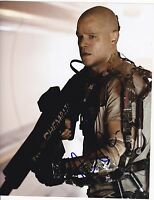 MATT DAMON SIGNED 8X10 PHOTO ELYSIUM RARE NEW FILM IMAGE PROOF AUTOGRAPH COA A