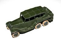 Dinky Toys Pre War Military Green Army Reconnaissance Car # 152B Rare !!