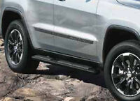 11-2013 Jeep Grand Cherokee Black Side Steps Nerf Bars Running Boards OEM Mopar