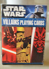 STAR WARS VILLAINS PLAYING CARDS BRAND NEW AND SEALED