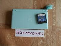 ELDORADODUJEU CONSOLE NINTENDO DS bleu ciel + 1 jeu alexandra ledermann 2