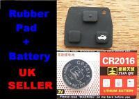 for Toyota 2 Button / 3 Button key RUBBER PAD Repair Corolla Yaris Avensis RAV4