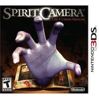 NEW Spirit Camera: The Cursed Memoir  (Nintendo 3DS, 2012) NTSC