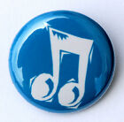 "MUSIC NOTE - Novelty Fun Button Pinback Badge 1"" Band Sing"