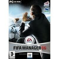 FIFA MANAGER 06 - ENGLISH PC CLASSIC GREAT COMPUTER    GAME WINDOWS