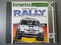 NETWORK Q RALLY - SIMULATION - ENGLISH PC CLASSIC GREAT COMPUTER  RACING GAME