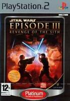 STAR WARS EPISODE 3 III REVENGE OF THE SITH - SONY FOR PS2 PS3 GAME ENGLISH