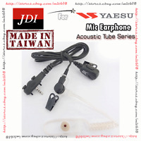 Acoustic Tube Earpiece Mic for VERTEX STANDARD YAESU with 2 screws HM450s MH360s