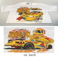 KODAK RACING CAR T-SHIRT, BOBBY HAMILTON, XL, NEW, WHITE