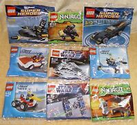 LEGO SUN/MAIL PROMO Set CHOOSE YOURS: Ninjago/Star Wars/City/Super Hero/Hobbit