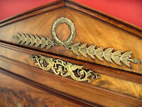 BEAUTIFUL FRENCH EMPIRE REGENCY DIRECTOIRE HEADBOARD FOOTBOARD SIDEBOARDS