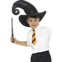 Child Harry Potter Wizard Costume Boys Fancy Dress Robe Kids World Book Week
