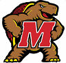 UNIVERSITY OF MARYLAND Terrapins Large Cornhole Decals / Set of 2