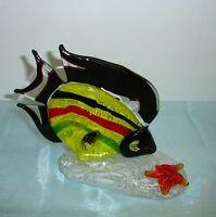Joska Waldglashütte  - Kristall Glas -  Fisch - Glasfigur - Glasfisch
