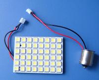 1pc BA15S 1156 1141 Car Light Dome Bulb 48-5050 SMD LED Super Bright DC12V White