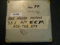 02 NISSAN MAXIMA 3.5L A/T ECU/ECM #A56-T68-ZP7  *see description*