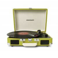 Crosley Cruiser Retro Vinyl Record Player Turntable - Green EU Plug