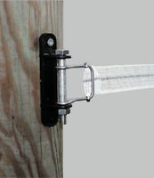 TAPE CORNER INSULATORS x 5 Electric Fencing Fence Start End 40mm Poly Tape