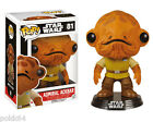 Star Wars Episode VII POP! Vinyl Bobble Head Admiral Ackbar figurine Funko 81-
