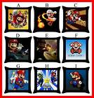 Super Mario Bros Nintendo Wii Throw Pillow Case #Pick 1