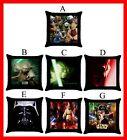 Star Wars Yoda Darth Vader Throw Pillow Case #Pick 1