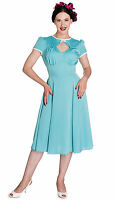 Hell Bunny Nell Rockabilly Pinup Swing Vintage Wartime 40s Dress   XS-4XL PLUS
