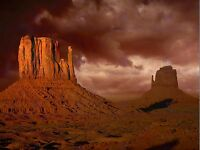 MONUMENT VALLEY ARIZONA GRAND CANYON USA PHOTO ART PRINT POSTER PICTURE BMP826B