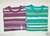 GapKids Boys Longsleeved Shirts Striped Size S 6-7, M 8, L 10 NWT