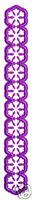 JOY CRAFTS CUTTING & EMBOSSING DIE STENCIL BORDER FLOWERS 6002/0003 SALE