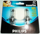 KIT 2 LAMP LAMPADE PHILIPS H7 12V 55W PX26DX2 VISION PLUS +50% LUCE