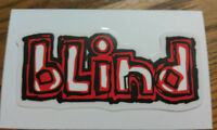 "blind, SKATEBOARD STICKER, very cool, RARE, 4-1/2"" x """