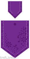 JOY CRAFTS DIE CUT EMBOSSING STENCIL FLOWERS POCKET SET 6002/0061 CARDMAKING