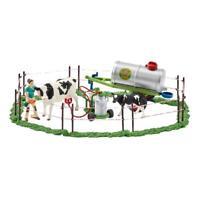 Schleich Farm Life Kuhfamilie auf der Weide Kühe Kuh Kalb Bauernhof Spielfigur