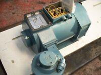 DC Electric Motor 3.5kW Thrige-Scott DC Electric Shunt Motor Shunt 4.5hp
