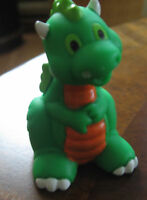 FISHER PRICE LITTLE PEOPLE HTF REPLACEMENT CASTLE DRAGON