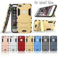 Anti Shock KickStand Durable Hybrid Hard PC Case Back Cover For iPhone 7/7 plus