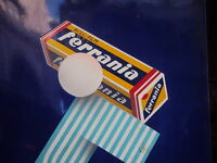 1910 ORIGINAL VERY RARE# VINTAGE FERRANIA ROLL FILM PORCELAIN SIGN MADE IN ITALY