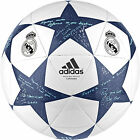 Adidas Champions League 2016 Real Madrid Finale Match Ball Football WHITE & BLUE