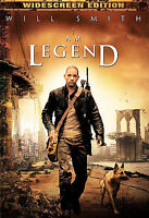 I AM LEGEND Will Smith (DVD, 2008, Widescreen) NEW.