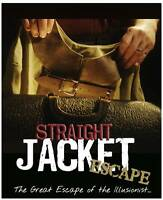 STRAIGHT JACKET ESCAPE + Instructional DVD Magician Magic Trick Houdini Canvas