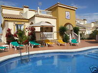 VILLA RENTAL, ALICANTE, SPAIN, SLEEPS 6