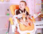 #2 0-4 Age Adjustable Safe Comfortable Kids/Children/Babies Highchair