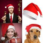 Lot 50 Christmas Cap Thick Ultra Soft Plush Santa Claus Holiday Fancy Dress Hat