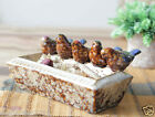 Country Style Ceramic Birds Home Decoration/Decoration Fruit Tray /Gifts *