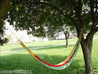 Leisure Portable Safe Cotton Rope W80cm*L200cm Outdoor 1*People Camping Hammock